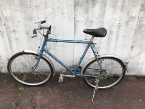 この自転車のなんだ⁉️